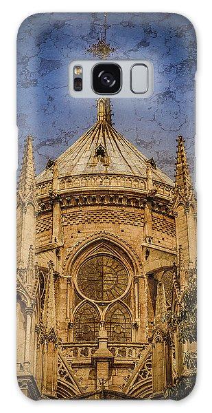 Paris, France - Notre-dame De Paris - Apse Galaxy Case