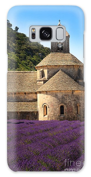 Notre-dame De Senanque  Abbey Provence France Galaxy Case
