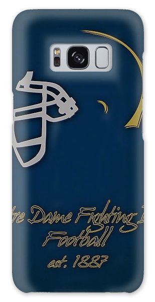 Notre Dame Galaxy Case - Notre Dame Fighting Irish Helmet by Joe Hamilton