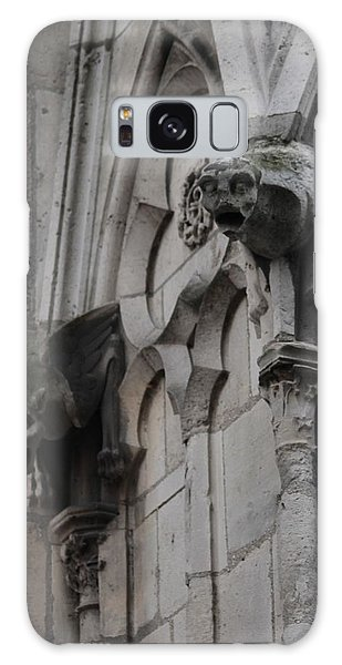Notre Dame Grotesques Galaxy Case by Christopher Kirby