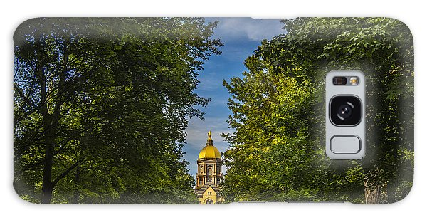 Notre Dame University 2 Galaxy Case by David Haskett