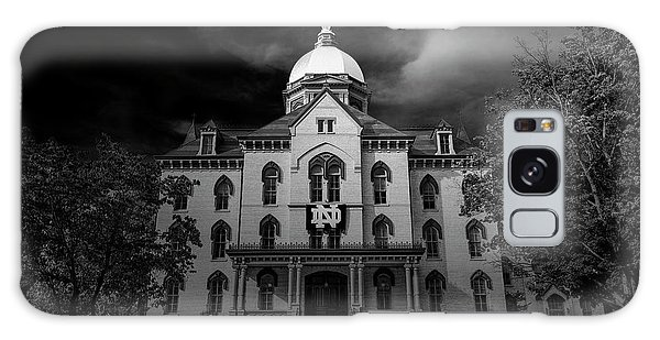 Notre Dame University Black White 3a Galaxy Case