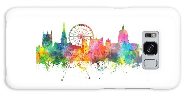 Nottingham  England Skyline Galaxy Case