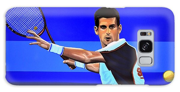 Tennis Galaxy S8 Case - Novak Djokovic by Paul Meijering