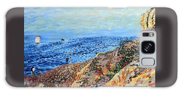 November Day At Point Lobos San Francisco Galaxy Case