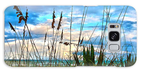 November Day At The Beach In Florida Galaxy Case