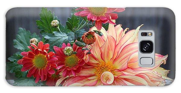 November  Flowers - Still Life Galaxy Case
