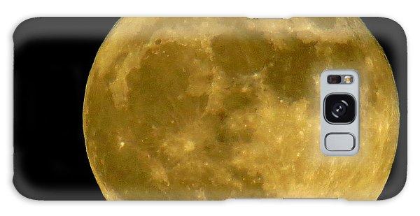 November Full Moon Galaxy Case
