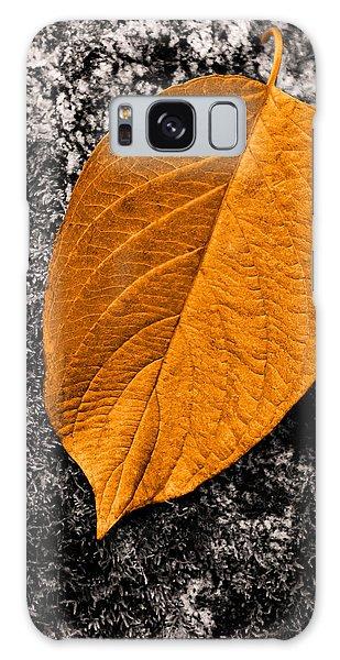 November Leaf Galaxy Case by Ari Salmela