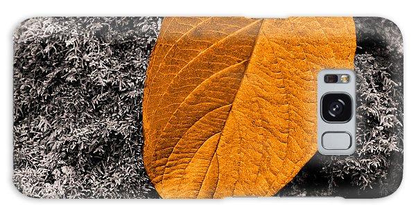November Leaf Galaxy Case