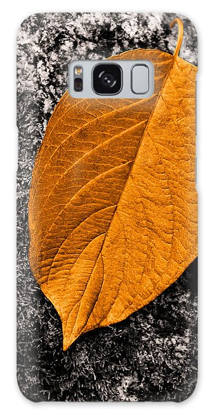 November Leaf Galaxy Case