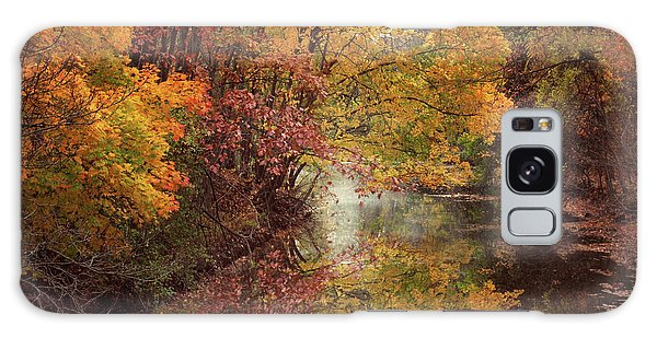 Galaxy Case featuring the photograph November Reflections by Jessica Jenney