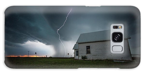Galaxy Case featuring the photograph Nowhere To Run by Aaron J Groen