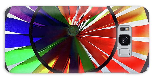 Galaxy Case featuring the photograph noWind wheel by Luc Van de Steeg