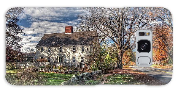 Noyes House In Autumn Galaxy Case