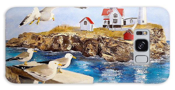 Nubble Light Galaxy Case