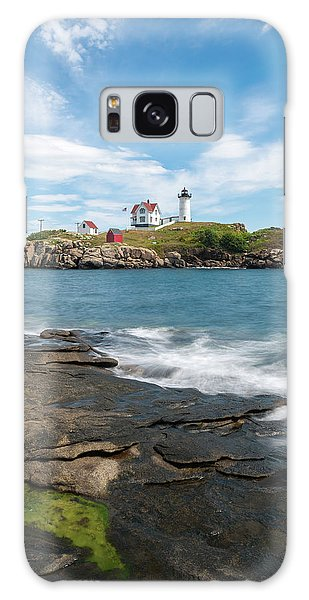 Nubble Light IIi Galaxy Case by Sharon Seaward