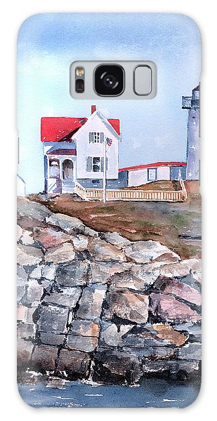 Nubble Lighthouse - Maine Galaxy Case