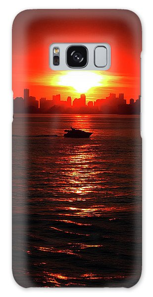 Nuclear Miami Sunset Galaxy Case