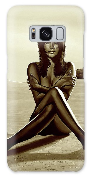 Breast Galaxy Case - Nude Beach Beauty Sepia by Paul Meijering