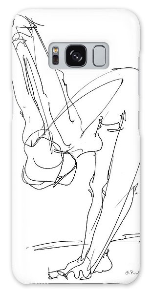 Nude Female Drawings 10 Galaxy Case