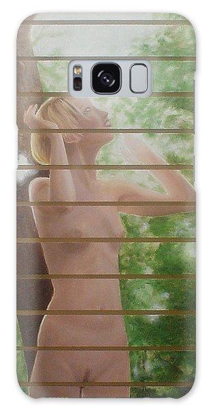 Nude Forest Galaxy Case by Angel Ortiz