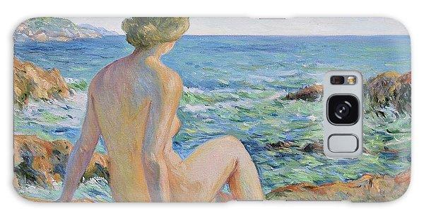 Nude On The Coast Monaco Galaxy Case
