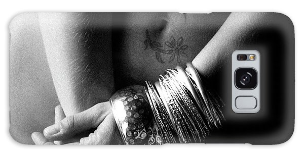 Nude Tattoo And Bangles Galaxy Case