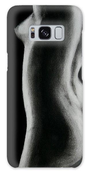 Nude Woman Galaxy Case