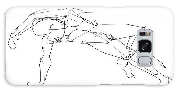 Nude_male_drawings_23 Galaxy Case