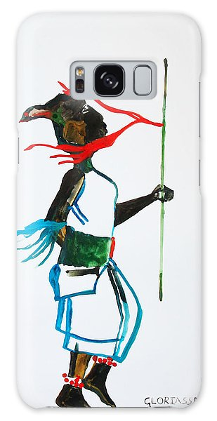 Nuer Dance - South Sudan Galaxy Case