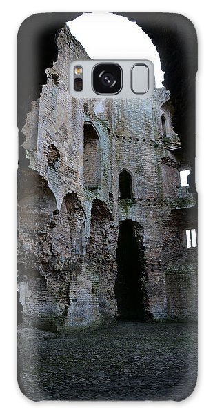 Nunney Castle Galaxy Case