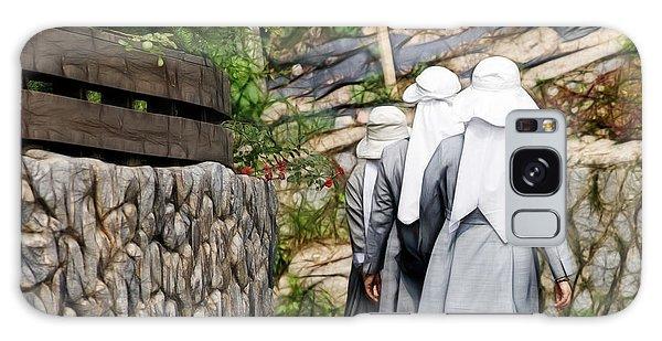 Nuns In A Row Galaxy Case