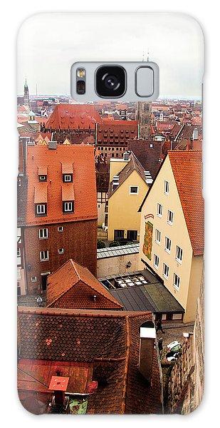 Nuremberg Cityscape Galaxy Case