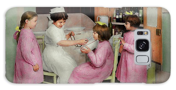 Galaxy Case featuring the photograph Nurse - Playing Nurse 1918 by Mike Savad