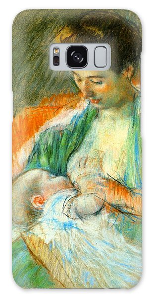 Nursing Infant 1900 Galaxy Case by Padre Art