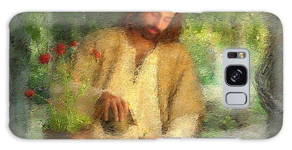 Savior Galaxy Case - Nurtured By The Word by Greg Olsen