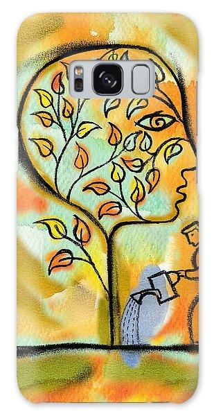 Garden Galaxy S8 Case - Nurturing And Caring by Leon Zernitsky