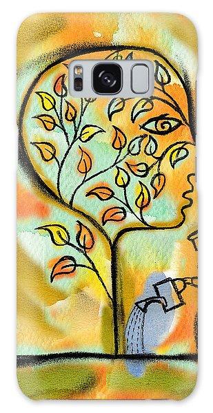Garden Galaxy Case - Nurturing And Caring by Leon Zernitsky