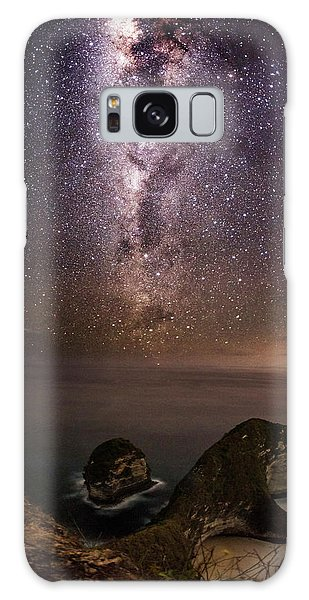 Nusa Penida Beach At Night Galaxy Case