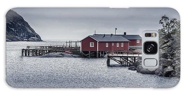 Nusfjord Rorbu Galaxy Case