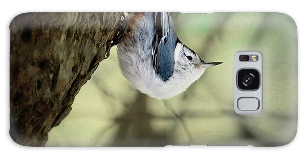 Nuthatch   Galaxy Case