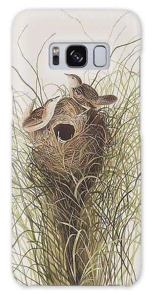 Wren Galaxy S8 Case - Nuttall's Lesser-marsh Wren  by John James Audubon