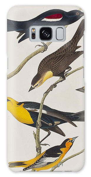 Nuttall's Starling Yellow-headed Troopial Bullock's Oriole Galaxy Case