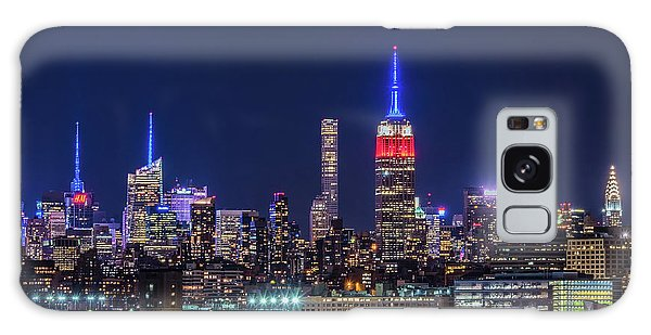 Nyc At The Blue Hour Galaxy Case