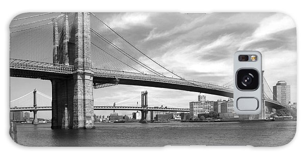 Nyc Brooklyn Bridge Galaxy Case by Mike McGlothlen