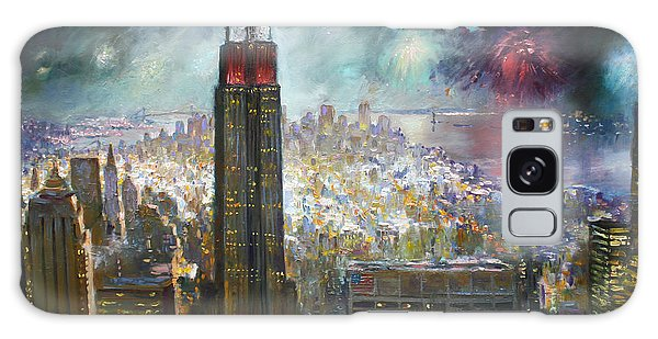 Empire State Building Galaxy S8 Case - Nyc. Empire State Building by Ylli Haruni