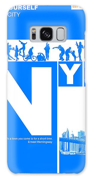 Broadway Galaxy Case - Nyc Find Yourself In The City by Naxart Studio