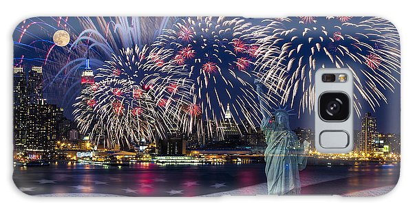 Galaxy Case featuring the photograph Nyc Fourth Of July Celebration by Susan Candelario