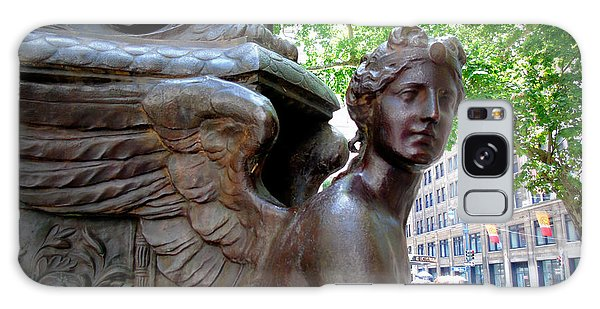Nyc Library Angel Galaxy Case